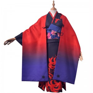 Fate/Grand Order FGO 浅上藤乃 あさがみふじの 着物 花見 振り袖