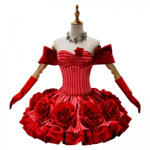 Fate/Grand Order FGO ネロ ドレス 赤い礼装 ローズ風 赤セイバー