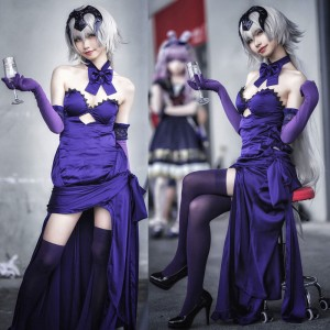 Fate/GrandOrder ジャンヌ・ダルク alter オルタ 聖夜の晩餐 概念礼装  ドレス