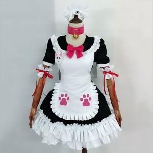 Fate Grand Order FGO 猫装メイド服 玉藻の前 コスプレ衣装 セット