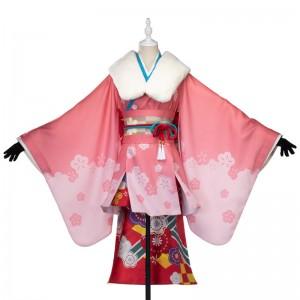 Fate/Grand Order コスプレ 新年のご挨拶 ジャンヌ・ダルク・オルタ・サンタ・リリィ コスプレ 衣装 着物