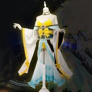 Fate/Grand Order 水着清姫 コスプレ衣装 ビキニ 清姫 着物風