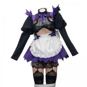 Fate Grand Order アルトリア・ペンドラゴン Alter 黒 メイド コスプレ衣装