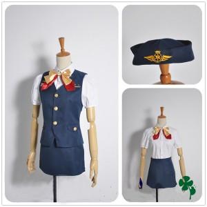 コスプレ 衣装 うたの☆プリンスさまっ・ Shining Airlines 七海春歌(ななみはるか) 機長制服 コスチューム