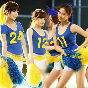 大人気韓国風 チアガール チアリーダー 体操着 コスプレ衣装 コスチューム