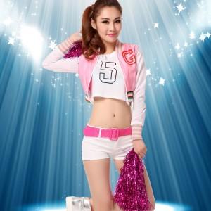 韓国少女時代超人気衣装 ダンス衣装 チアガール コスプレ衣装 コスチューム