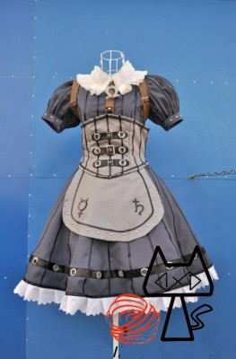 アリス マッドネス リターンズ(Alice Madness Returns) Steamdress風 コスプレ衣装