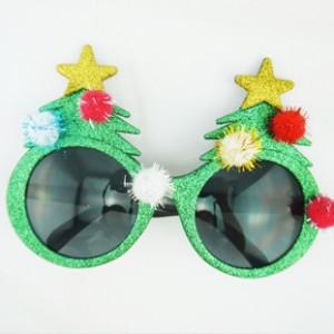 クリスマスパーティー変装メガネ クリスマスツリーメガネ クリスマスプレゼント