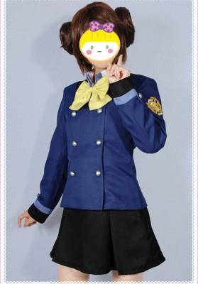 ダンボール戦機ウォーズ 神威大門統合学園女子制服風 コスプレ衣装