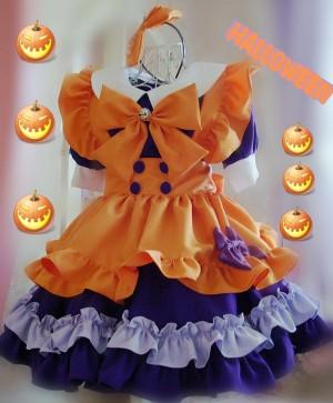 メイド服 コスチューム衣装 可愛い裾 コスプレ衣装