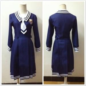 乃木坂46風 高校制服 セーラー服 コスチューム コスプレ衣装