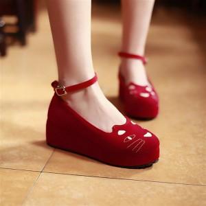 新品ファッション 可愛いパンプス 厚底靴 レディース靴