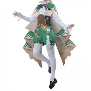 原神 温迪 Barbatos 風神 ゲーム服 シンガー コスプレ衣装