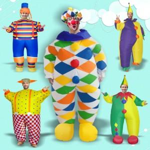 ハロウィン・Halloween 膨らませて服 舞台服 ピエロ 大人気ハロウィン 仮装 道具