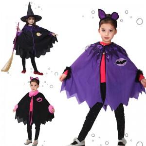 ハロウィン 子供用 マント カボチャ コウモリ 衣装