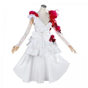 Identity Ⅴ 調香師 スカーレットの新婦 花嫁 コスプレ衣装 ウェディングドレス