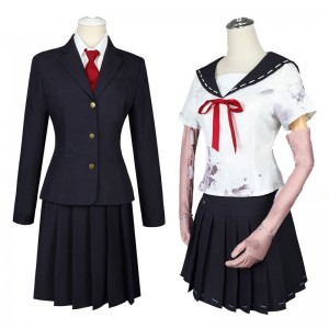 Identity Ⅴ 夢の魔女 川上富江 コスプレ衣装 黒+白 使徒