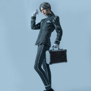 Identity Ⅴ 納棺師 イソップ・カール コスプレ衣装 灰色 全セット