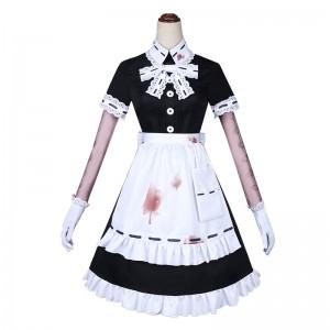 Identity Ⅴ 医師 宴会メイド コスプレ衣装 レース 黒+白