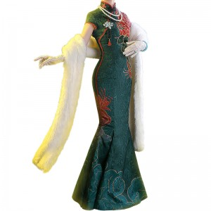アイデンティティV Identity V 赤蝶十三娘 チャイナドレス 中国風 コスプレ衣装
