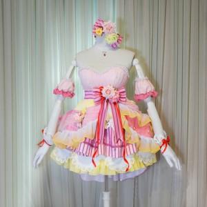 アイドルマスター シンデレラガールズ スターライトステージ 新SSR  島村卯月 しまむらうづき ドレス 豪華コスプレ衣装