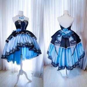 アイドルマスター シンデレラガールズ スターライトステージ CGSSー鷺沢 文香 さぎさわ ふみか 新SSR ドレス 豪華コスプレ衣装