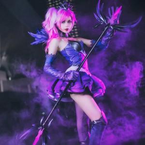 League of Legends LOL ラックス (Lux) 光の少女 コスプレ衣装