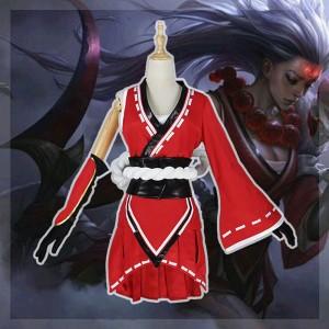 League of Legends lol リーグ・オブ・レジェンド ダイアナ diana コスプレ衣装 着物