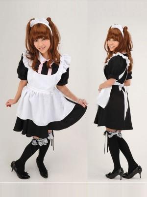 メイド系 キューティーメイド(ワンピース)風コスチューム衣装