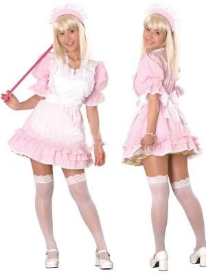 メイドKiKiピンク メイド服通販 変身コスチューム衣装