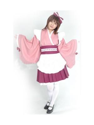 ラブリーでキュートなメイド服コスプレ衣装