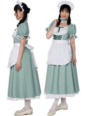Cosplayメイド服風 コスプレ衣装 ロング   制服 コスチューム コスプレ衣装