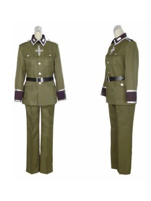ヘタリア ドイツにょいつ 軍服風コスプレ衣装
