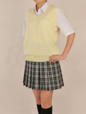 女子学生の制服 ベストセット衣装