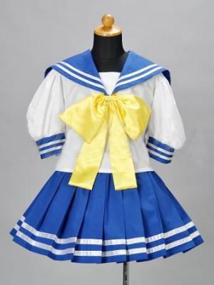 Cosplayらき☆すた 陸桜学園/女子制服/夏服風コスプレ衣装