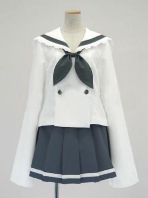Cosplayらき☆す 小神あきら/女子制服/冬服風コスプレ衣装