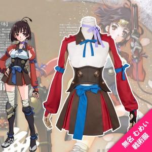 甲鉄城のカバネリ戦術服  無名 むめい コスプレ衣装  普通版 コスチューム
