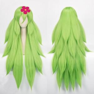 宝石の国 ウォーターメロントルマリン 長髪 黄緑 コスプレウィッグ