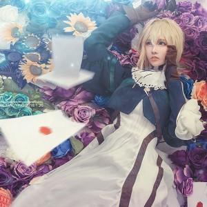 ヴァイオレット・エヴァーガーデン ヴァイオレット・エヴァーガーデン/Violet Evergarden カード スカート