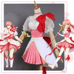 【予約商品】魔法少女 俺 卯野咲 コスプレ衣装