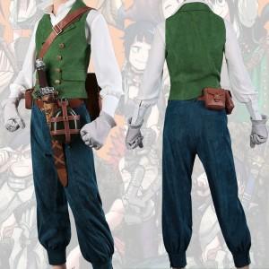 僕のヒーローアカデミア 緑谷出久 コスプレ衣装 原作再現