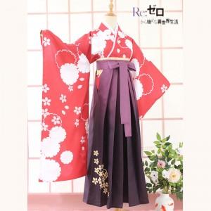 『Re:ゼロから始める異世界生活』 レムラム欲張りセットポスター 桜柄 着物