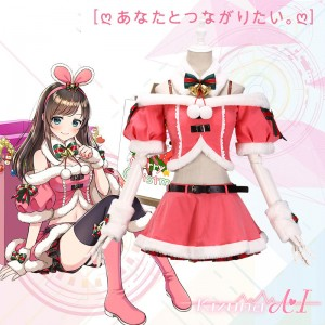 Kizuna AI キズナアイ A.I.Channel コスチューム クリスマス スカート