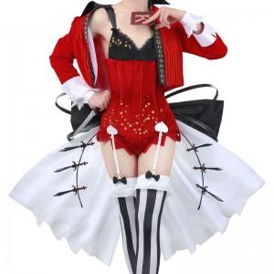 博多豚骨ラーメンズ リン シェンミン 赤いドレス サーカス