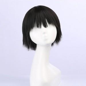 地縛少年花子くん 花子くん コスプレウイッグ 黒髪 ショットヘア