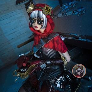 第五人格 Identity V 機械士赤ずきん 機械技師 コスプレ衣装サバイバートレイシーコスプレロリ風衣装セットステージ服
