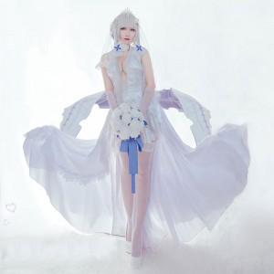 アズールレーン イラストリアスウェディングドレス コスチューム Cosplay イベント パーティー 変装 仮装