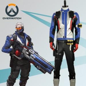 Overwatch オーバーウォッチ  OW ソルジャー76 コスプレ衣装
