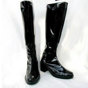美少女戦士セーラームーン 冥王雪奈 ブーツ セーラープルート コスプレ靴