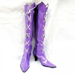 美少女戦士セーラームーン 土萠 ほたる(ともえ ほたる) コスプレブーツ セーラーサターン靴